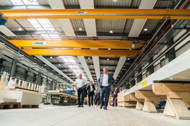 Photo of DFH eröffnet neue Produktionsanlage und plant weiteren Ausbau