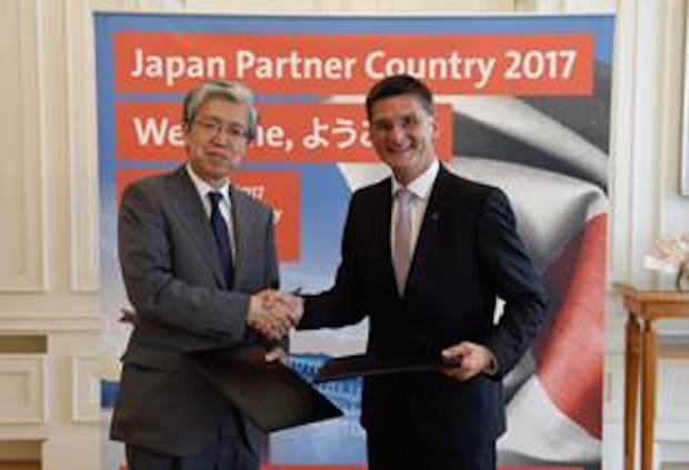 Photo of Hightech-Partnerschaft zwischen CeBIT und Japan nimmt Fahrt auf