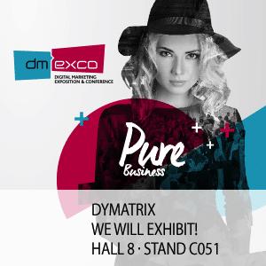 Photo of DYMATRIX präsentiert sich erneut auf der dmexco in Köln