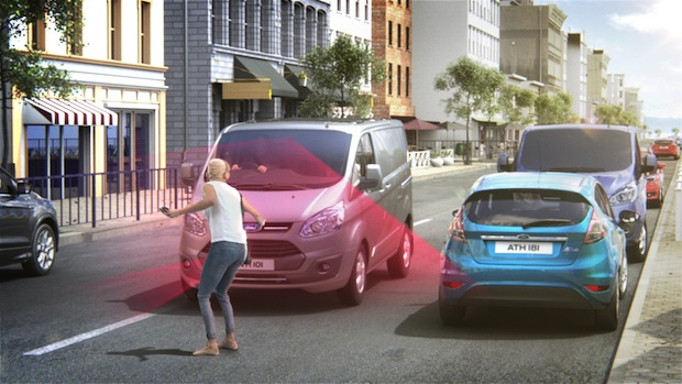 Photo of Ford Transit und Ford Custom ab sofort mit Pre-Collision-Assist bestellbar