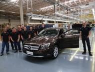 Mercedes-Benz startet Produktion des GLA in Iracemápolis