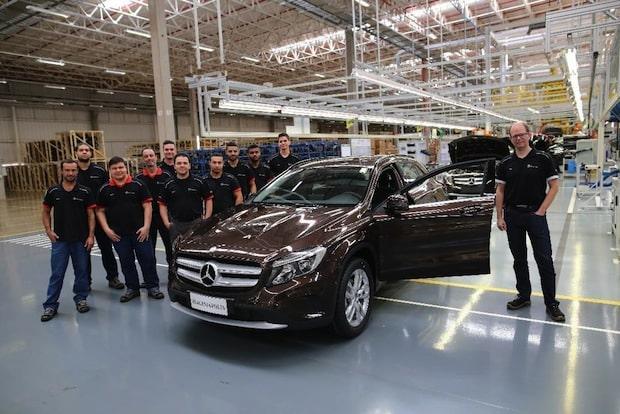 Photo of Mercedes-Benz startet Produktion des GLA in Iracemápolis