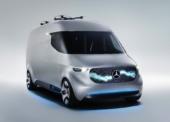 Premiere für neue Dienstleistungsmarke, innovative Services und Serienproduktion von Elektro-Transporter mit dem Stern