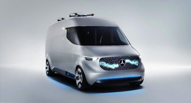 Photo of Premiere für neue Dienstleistungsmarke, innovative Services und Serienproduktion von Elektro-Transporter mit dem Stern