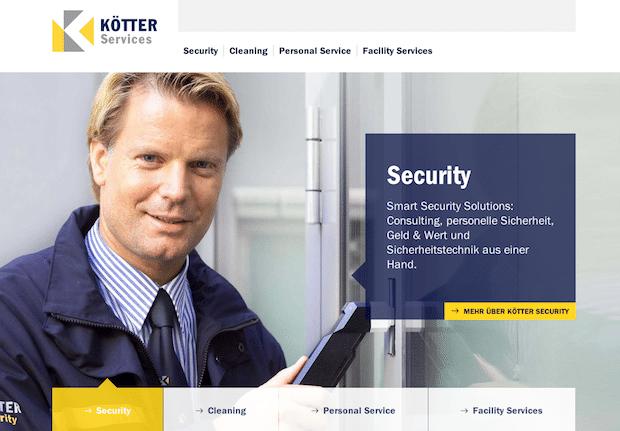 Photo of KÖTTER Services geht mit neuem Internet-Auftritt an den Start