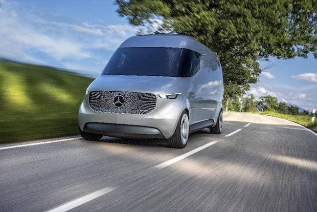 Bild von Mercedes-Benz Vans präsentiert den Transporter der Zukunft