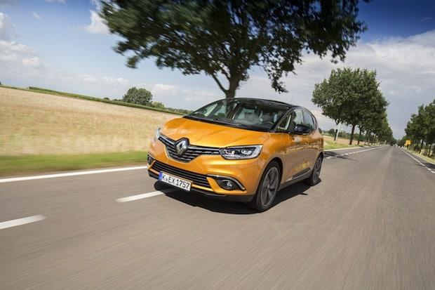 Bild von Neuer Renault Scénic erzielt fünf Sterne im Euro NCAP-Crashtest