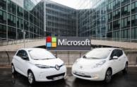 Renault-Nissan Allianz und Microsoft vereinbaren Kooperation für vernetzte Services