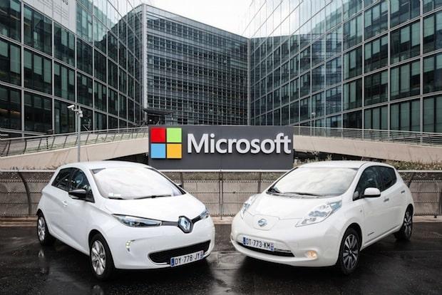 Bild von Renault-Nissan Allianz und Microsoft vereinbaren Kooperation für vernetzte Services