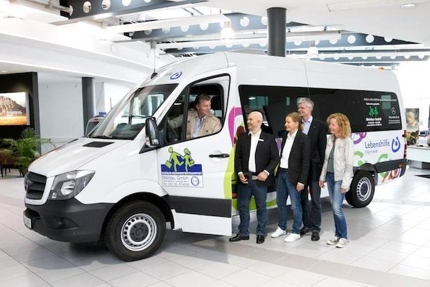 Photo of 15 Mercedes-Benz Sprinter für die Meldau GmbH zum Einsatz bei der Lebenshilfe Hannover