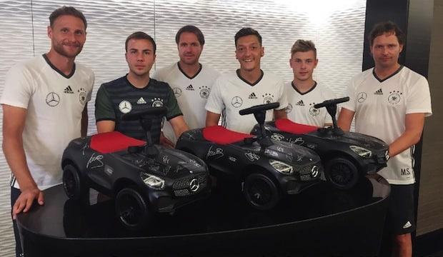 Photo of Mercedes-Benz engagiert sich für Kinder in Not
