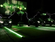 """smart electric symphony"" beim Festival of Lights"