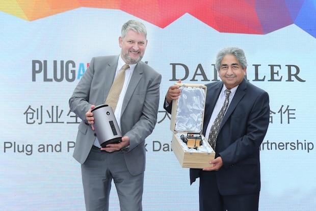 Bild von Daimler Greater China unterzeichnet Kooperationsabkommen mit Plug and Play