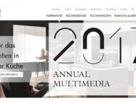 TWT erhält Annual Multimedia Award 2017 für Nolte Küchen