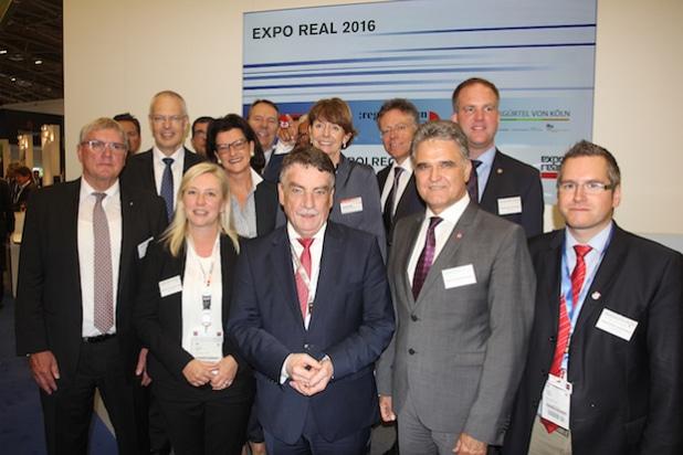 Foto mit Minister Groschek, © Region Köln/Bonn e.V.