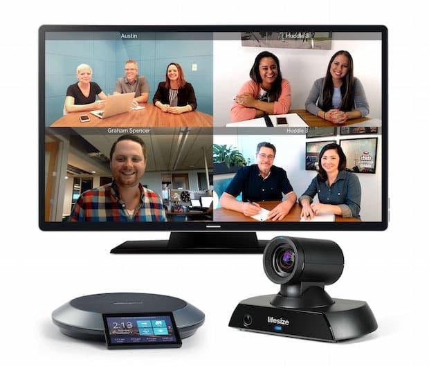 Bild von Lifesize stellt neues Videokonferenzsystem Icon 450 vor