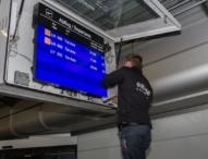 Calmo von EXTRA Computer als neue Anzeige Controller für das Fluginformationssystem am Flughafen München