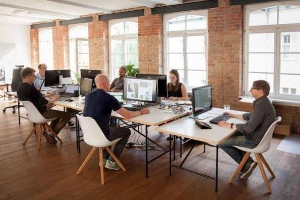 Das Team von Readly Deutschland in seinem Berliner Büro. (Quelle: Readly)