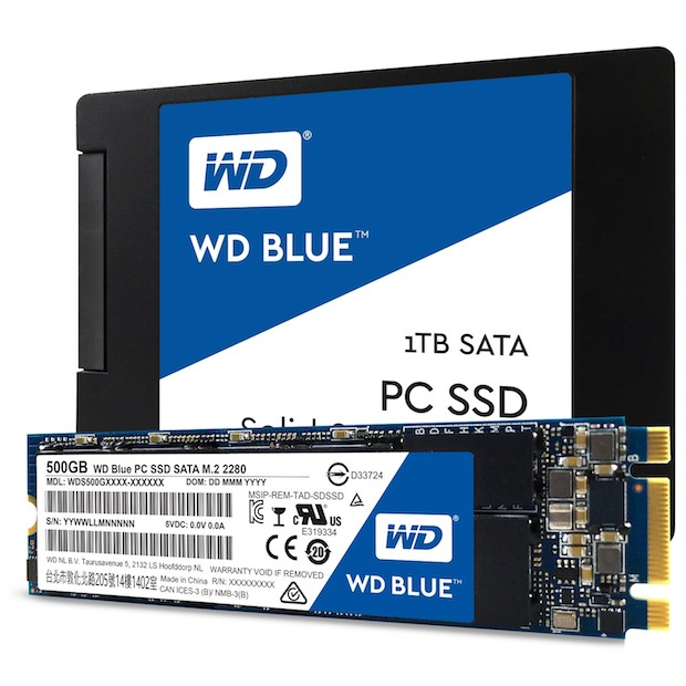 Photo of Western Digital stellt WD Blue und WD Green Solid State Drives vor