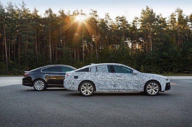 Bild von Im finalen Entwicklungsstadium: Der neue Opel Insignia
