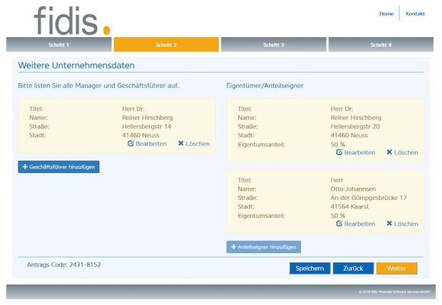 Bild von FACT.boarding: Online-Vertrieb für Factoring-Verträge