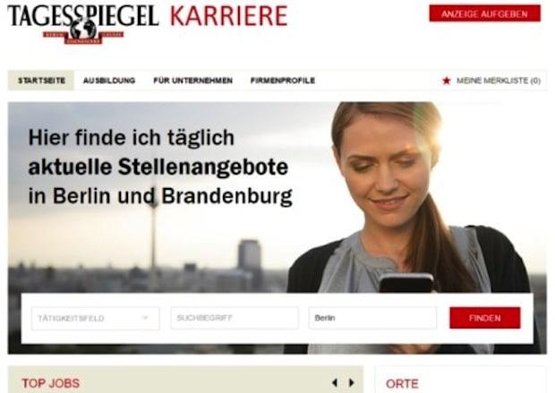 Photo of Tagesspiegel Karriere: Der neue Online-Stellenmarkt für die Hauptstadt