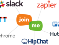 join.me jetzt in Slack, HipChat, Trello und andere Anwendungen integriert – für mehr Produktivität am Arbeitsplatz