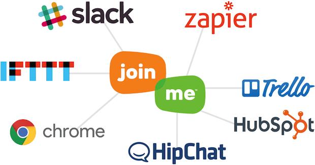 Bild von join.me jetzt in Slack, HipChat, Trello und andere Anwendungen integriert – für mehr Produktivität am Arbeitsplatz
