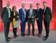 """Salzgitter AG als """"Best Newcomer Germany 2016""""  von CDP ausgezeichnet"""