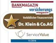 Vorbild für andere Finanzvertriebe: Dr. Klein