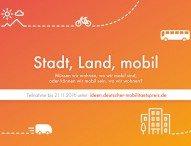 6.000 Euro für gute Mobilitäts-Ideen: Noch bis zum 21. November kreative Impulse einreichen