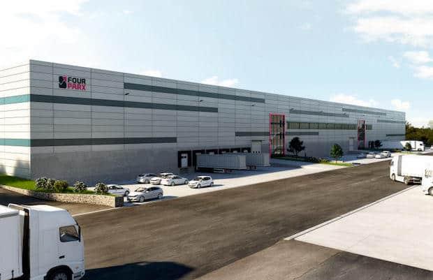 Bild von Deka Immobilien erwirbt Logistikanlage von FOUR PARX in Wesseling – Fertigstellung Ende des Jahres