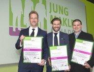 Nachwuchsmakler mit dem Jungmakler Award 2016 ausgezeichnet