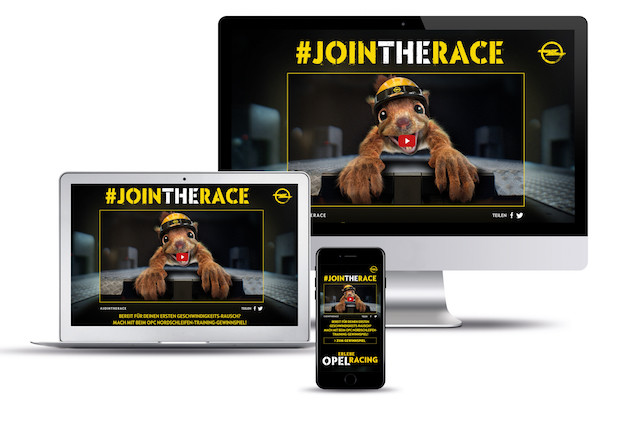 "Bild von ""Racing Faces"": Neues rasantes Social Video von Opel"