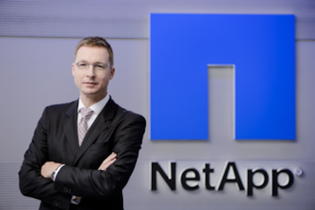 Dr. Dierk Schindler, Head of EMEA Legal Field Services & WW Contract Management & Services bei NetApp. Quelle: NetApp