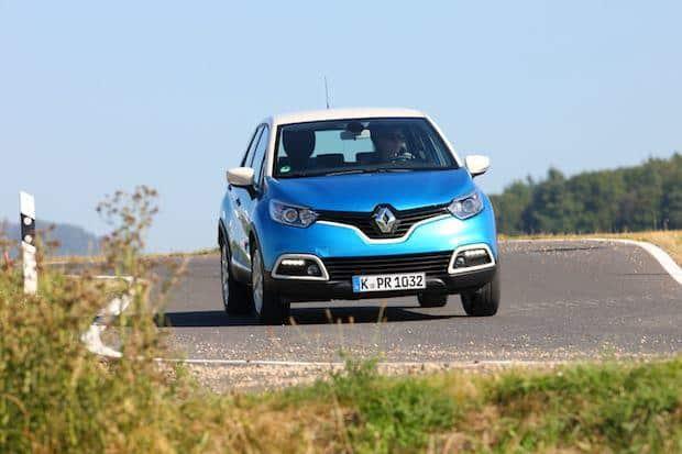"""Bild von Renault Captur ist """"TopPerformer 2016"""""""