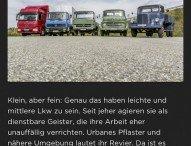 Legends of Trucking: Neue App stellt die Geschichte der Daimler Lkw von 1896 bis heute dar