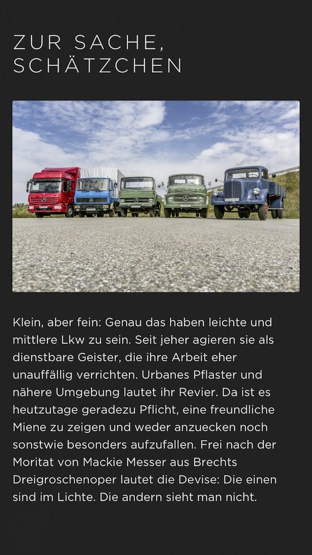 Bild von Legends of Trucking: Neue App stellt die Geschichte der Daimler Lkw von 1896 bis heute dar