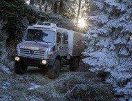 Hochgeländegängiger Unimog für die Bergwacht Schwarzwald