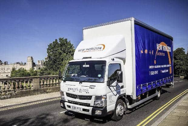 Bild von Effizient und umweltfreundlich: Fuso Canter 7C15 Eco Hybrid überzeugt britischen Logistiker auf ganzer Linie