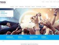 Moderne und benutzerfreundliche Webseite führt schnell und einfach zu den gewünschten Informationen