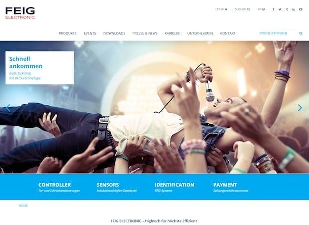 Photo of Moderne und benutzerfreundliche Webseite führt schnell und einfach zu den gewünschten Informationen