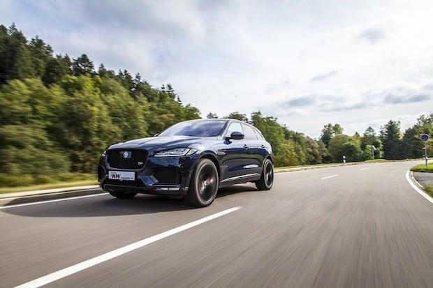 Bild von KW entwickelt individuelle Tieferlegung für Jaguar F-Pace
