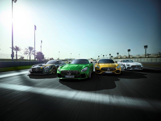 Bild von Mehr Sportwagen von Mercedes-AMG zum 50. Jubiläum