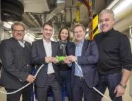 Mercedes-Benz Werk Hamburg nimmt neues Blockheizkraftwerk in Betrieb