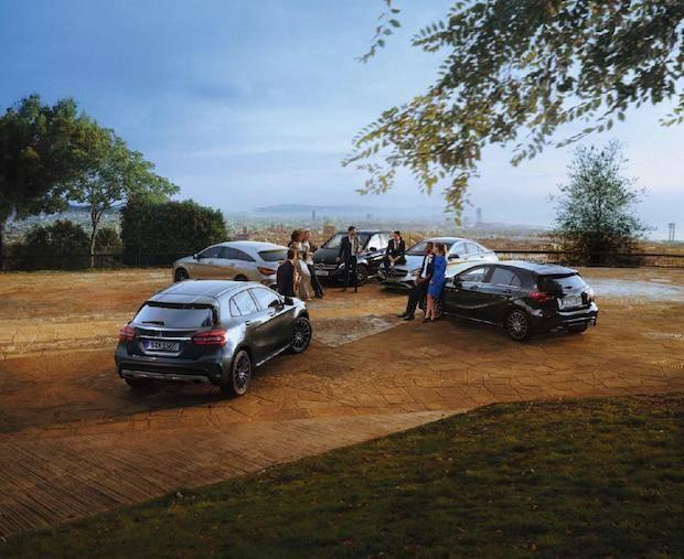 Bild von An der Spitze mit der Mercedes-Benz PEAK Edition