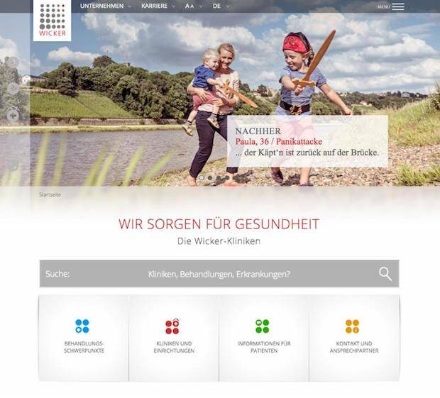 Photo of Responsive Relaunch für die Wicker-Gruppe