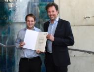 Zwei MCI-Absolventen mit Staatspreis für Österreichs beste Masterabschlüsse ausgezeichnet
