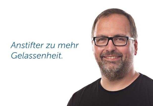 Foto: Christian Holzhausen - Anstifter für mehr Gelassenheit.