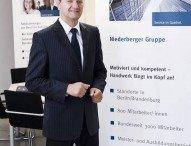 Niederberger Gruppe: Peter Hollmann ist Lehrlingswart der Berliner Gebäudereiniger-Innung